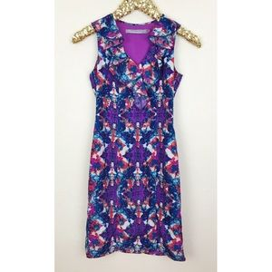 Marc New York Andrew Marc Sleeveless Floral Dress
